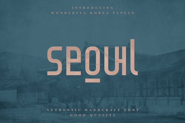 Thumbnail for Seoul - Authentic Korean Tipo de letra