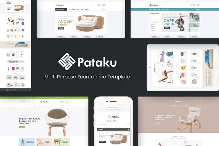 Thumbnail for Pataku - Технология OpenCart Тема