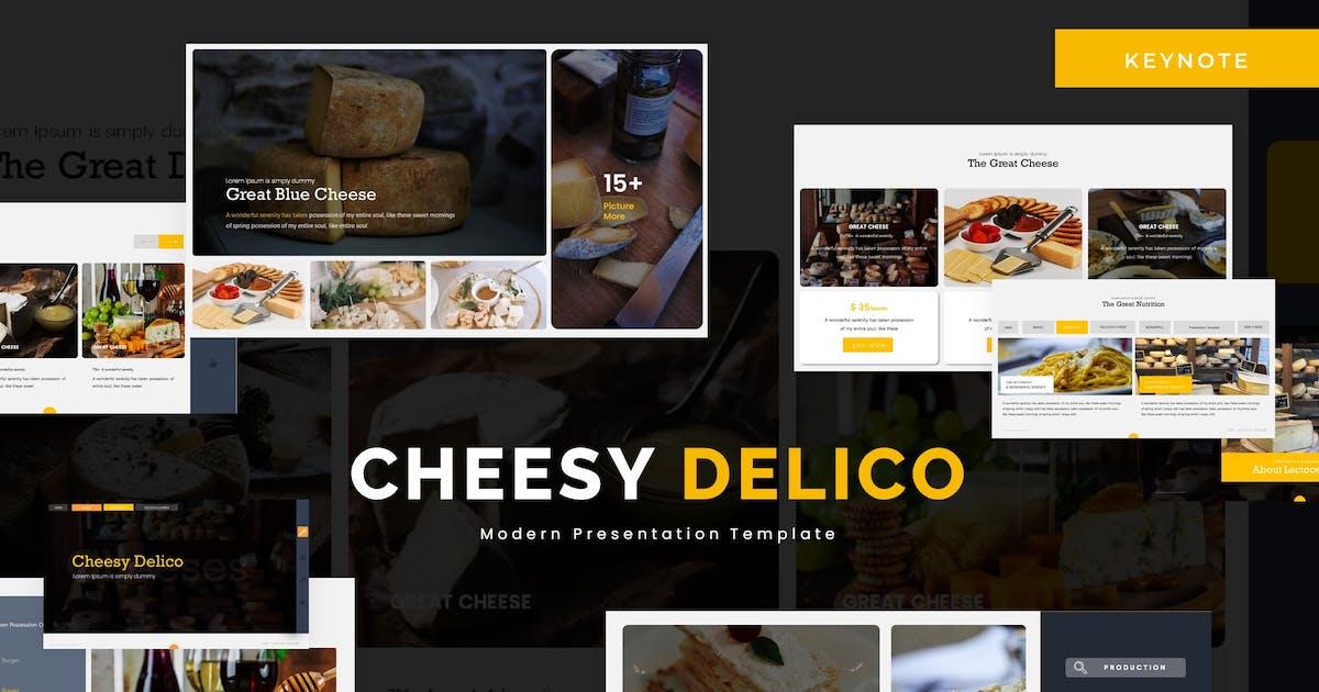 Download Cheesy Delico - Keynote Template by karkunstudio