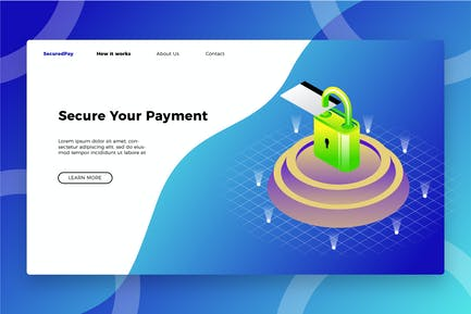 Money Secure - Banner & Landing Page
