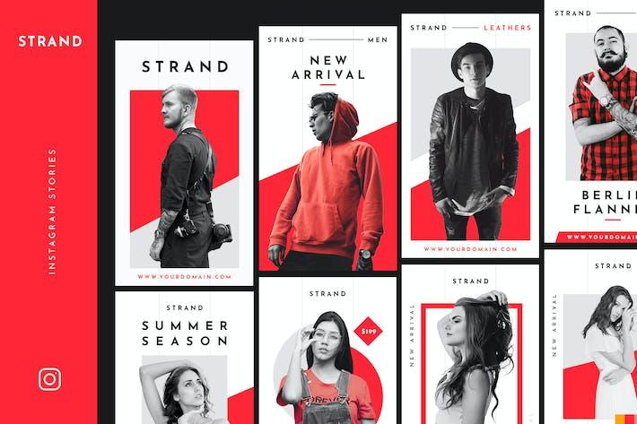 Thumbnail for STRAND - Instagram Stories Pack