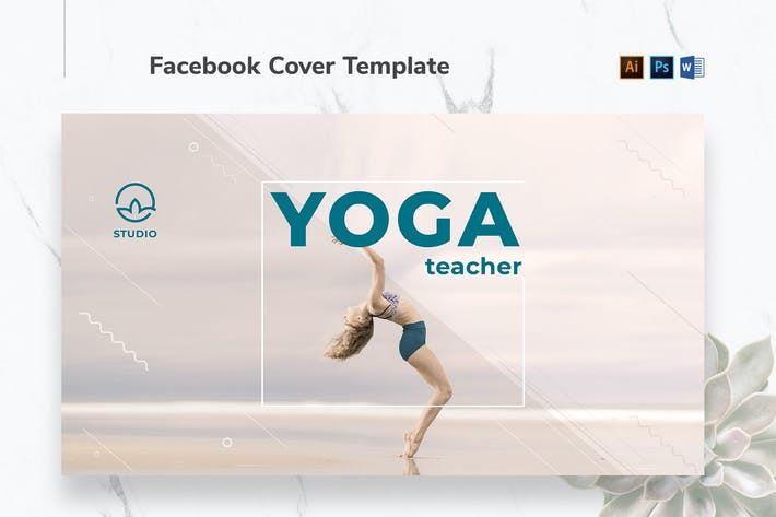 Thumbnail for Yoga Instructor Facebook Cover