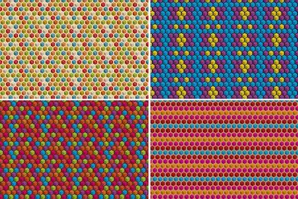 Geometric Cube Patterns