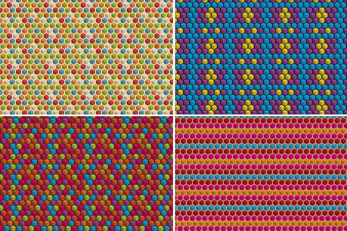 Thumbnail for Geometric Cube Patterns