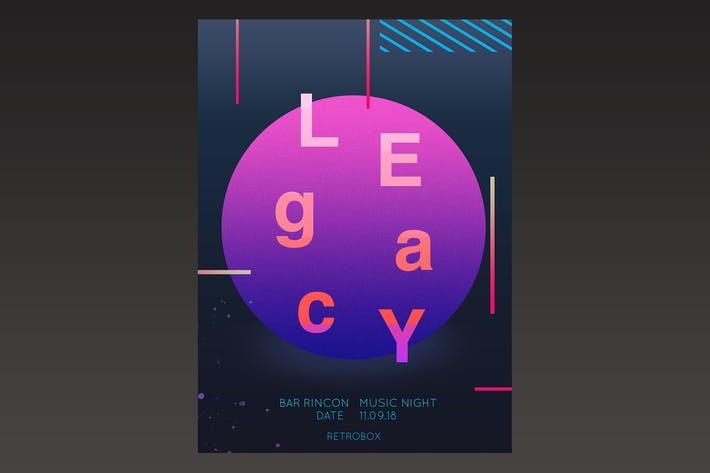 Thumbnail for Legacy Music Flyer Poster
