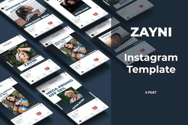 Zayni - Fashion Social Media Post Part 8