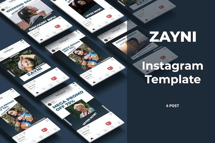 Thumbnail for Zayni - Fashion Social Media Post Part 8