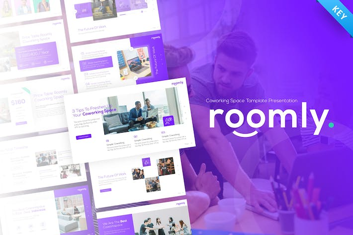 Thumbnail for Roomly Co-working Space Keynote Presentation
