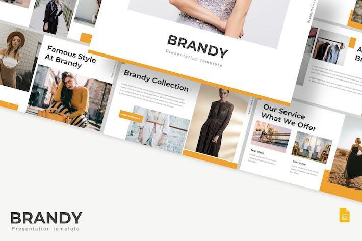 Thumbnail for Brandy - Google Slides Template