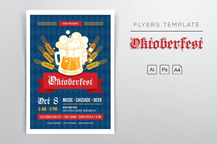 Thumbnail for Oktoberfest 2018 Flyers