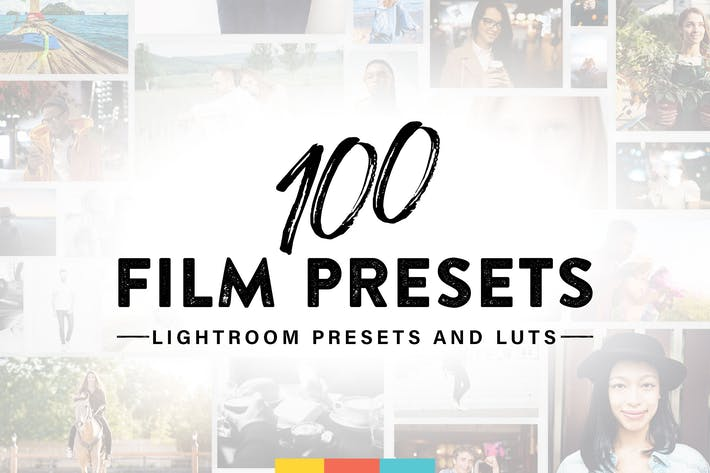 Thumbnail for 100 Film Lightroom Presets