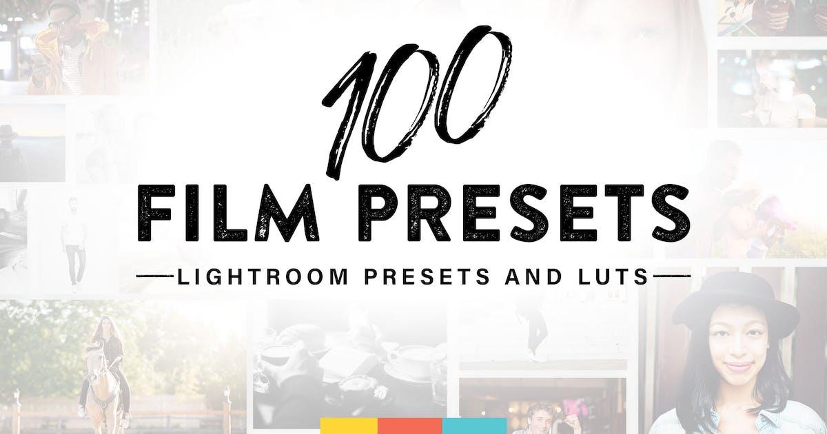 100 Film Lightroom Presets by sparklestock