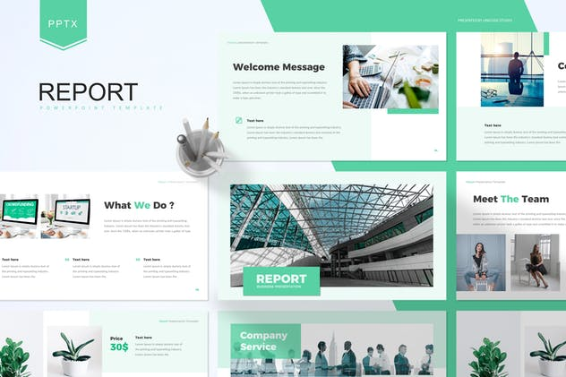 Report - Business Powerpoint Template