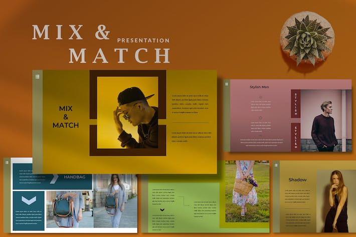 Thumbnail for Mix & Match - Amazing Powerpoint Template