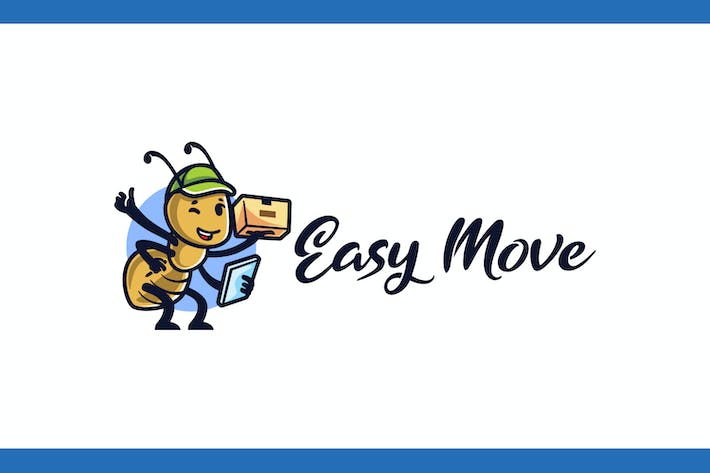 Thumbnail for Ant Mascot - Moving and Storage Service Logo