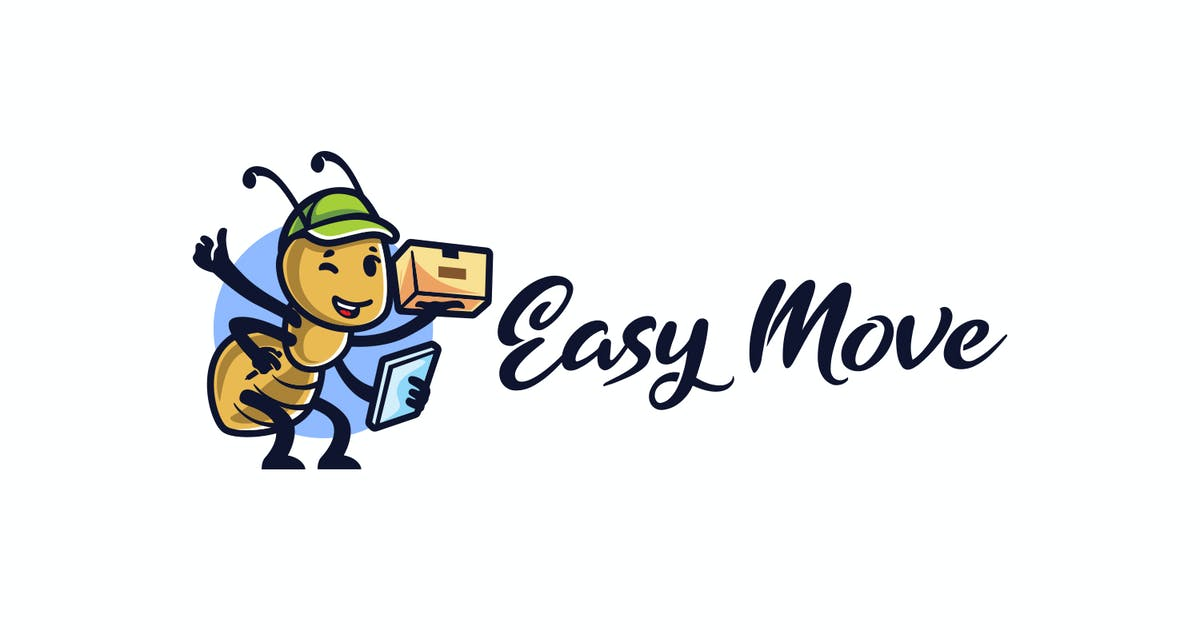 Download Ant Mascot - Moving and Storage Service Logo by Suhandi