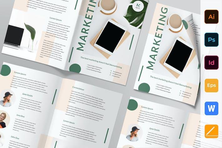 Thumbnail for Digital Marketing Agency Brochure Bifold