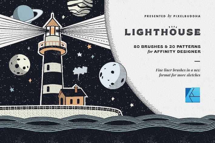 Thumbnail for Lighthouse Liner Affinity Brushes