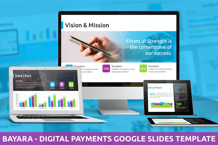 Bayara - Digital Payments Google Slides Template