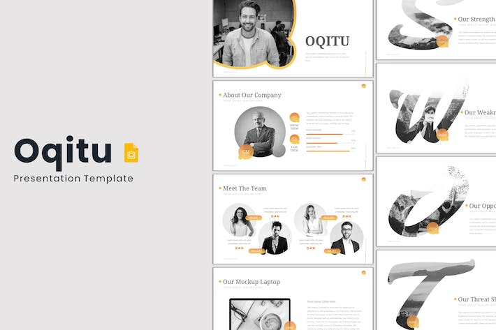 Cover Image For Oqitu - Google Slides Template