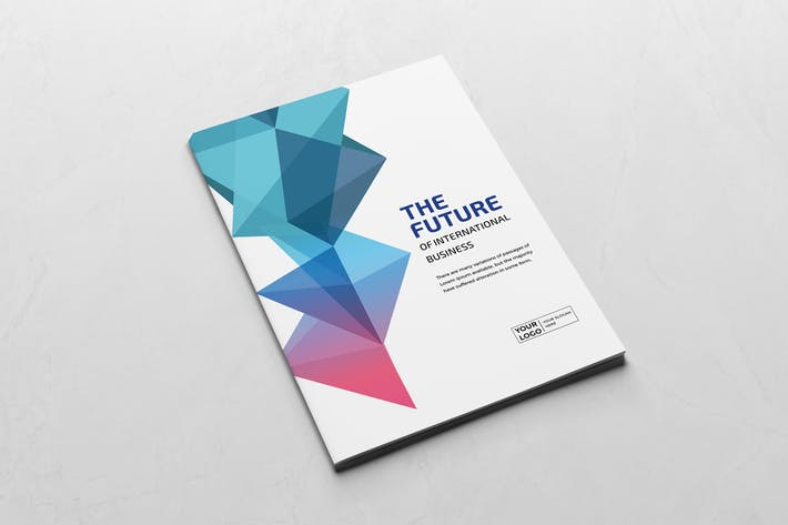 Thumbnail for Colorful Business Brochure Template