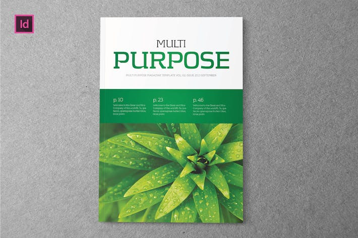 Thumbnail for MULTIPURPOSE DESIGN - Magazine Template