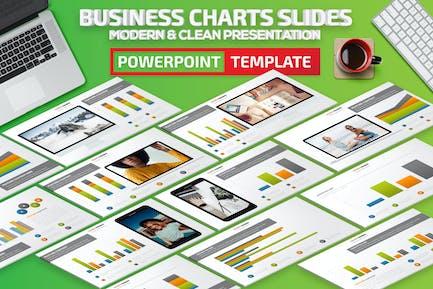 Business Chart Slides Powerpoint Presentation