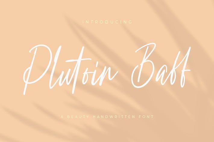 Thumbnail for Plutoin Baff Handwritten