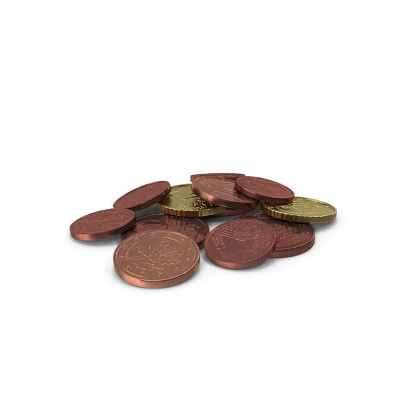 Mixed Euro Coins