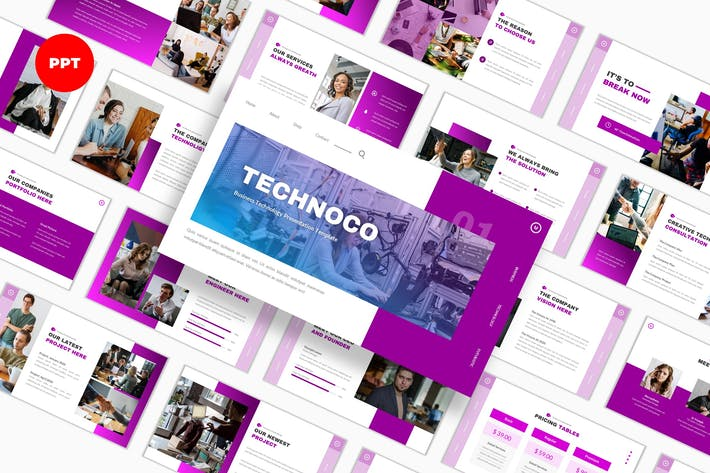 Technoco Technology PowerPoint