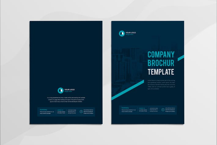 Cover Image For Company Profile 16 Pages