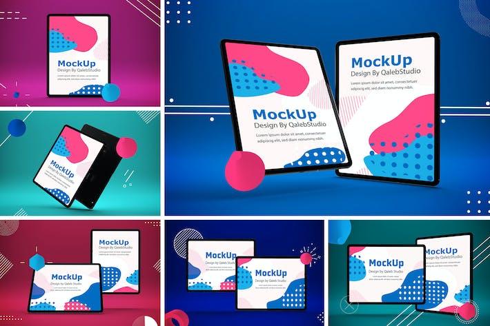 Thumbnail for Abstract iPad Pro Mockup