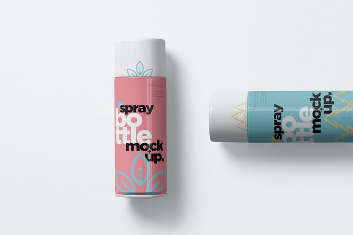 Thumbnail for Spray Bottle Mockups