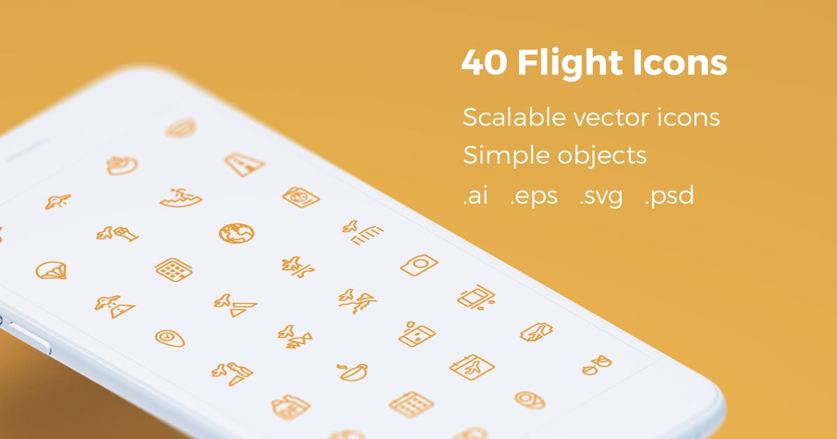 Download Book Your Flight - Vector Icons by bestwebsoft
