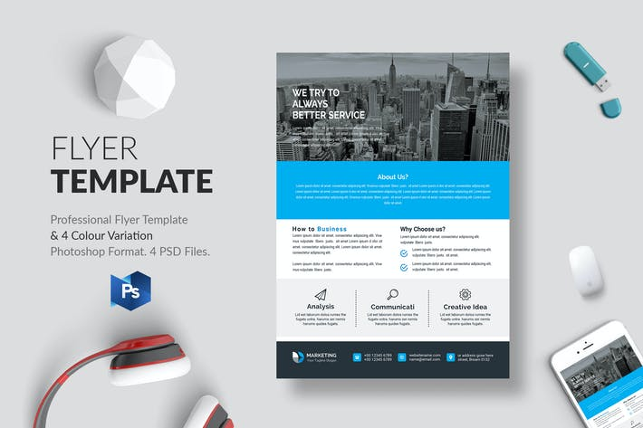 Cover Image For Business Flyer Template 16
