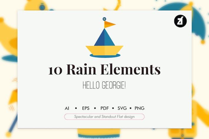 10 Elementos de la estación de lluvias