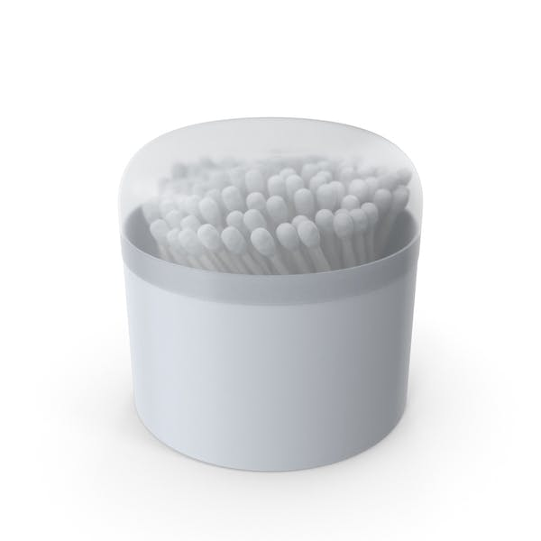 Cotton Buds in Round Box