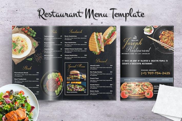 Thumbnail for Restaurant Food Menu Bifold-02
