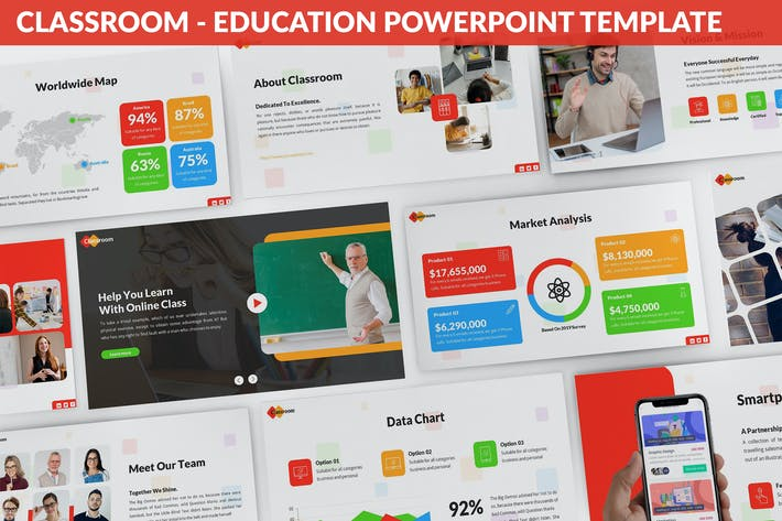 Thumbnail for Classroom - Education Powerpoint Template