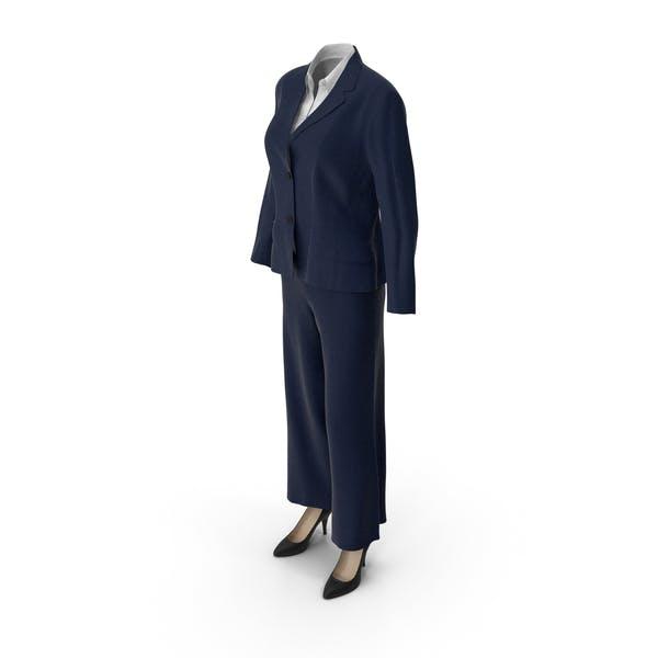 Thumbnail for Womens Business Suit Blue