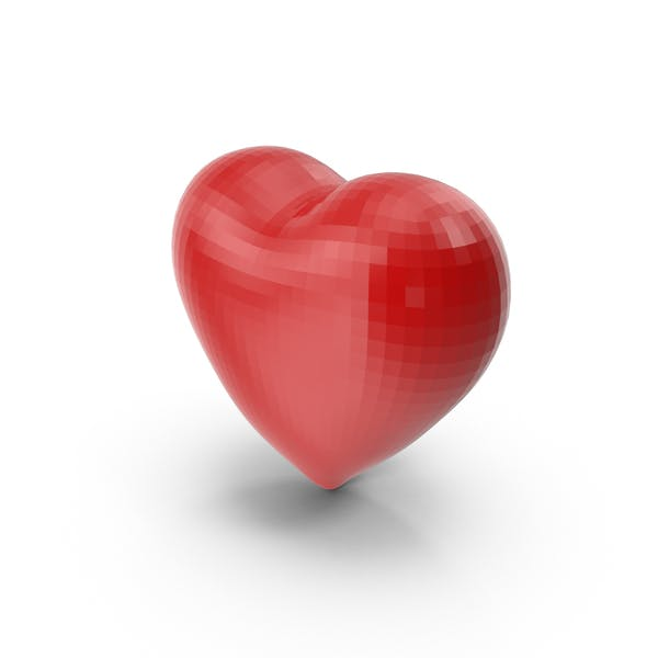 Faceted Heart