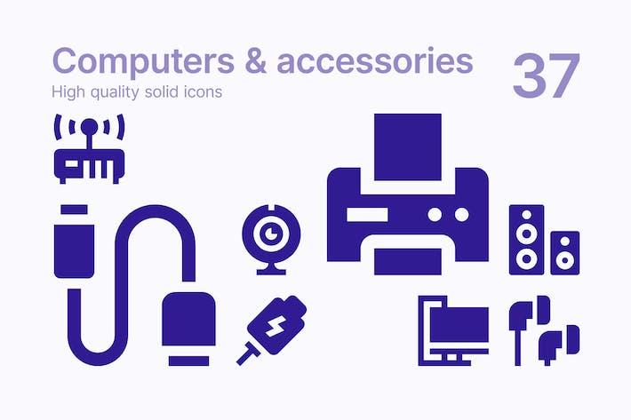 Thumbnail for Computer und Zubehör Icons