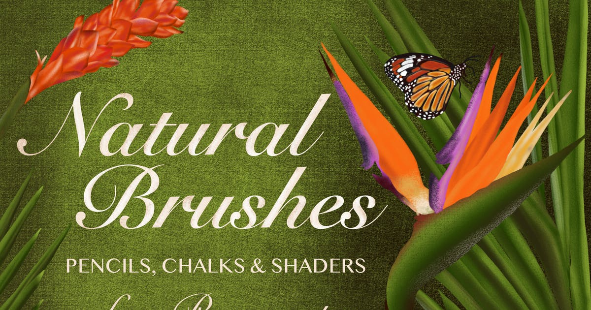 Download Natural Brushes for Procreate by guerillacraft