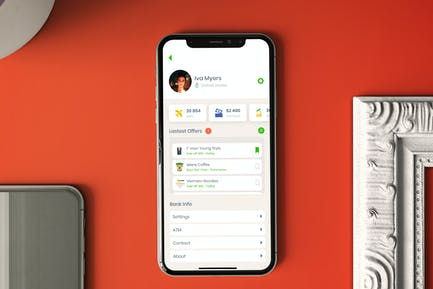Mobile Account Setting Ui - T