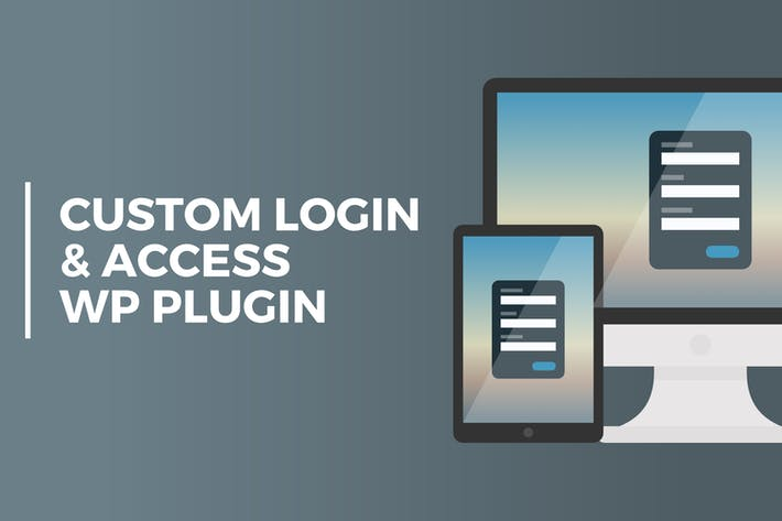 Thumbnail for Custom Login & Access WordPresss Plugin