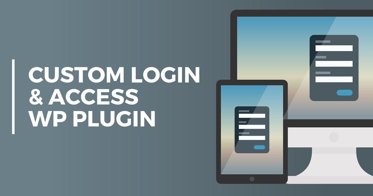 Download Custom Login & Access WordPresss Plugin by PressApps