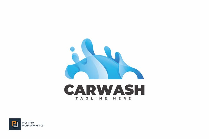 Thumbnail for Car Wash - Logo Template