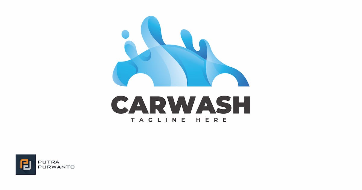 Download Car Wash - Logo Template by putra_purwanto