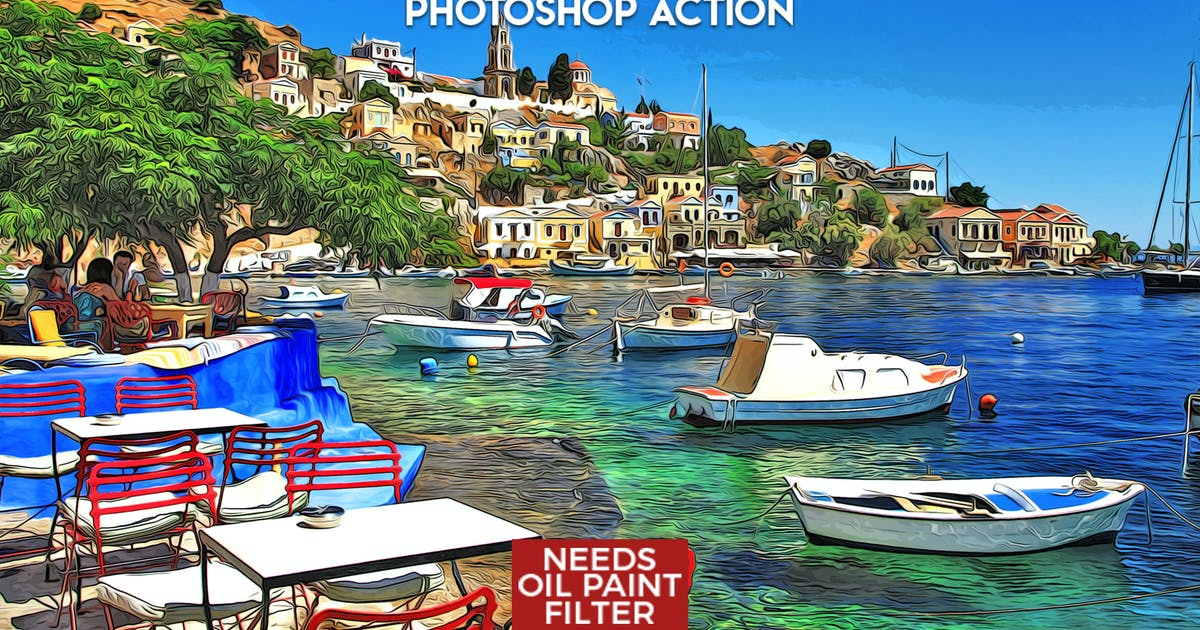 Download MicroPro Cartoon Oil Photoshop Action by ClauGabriel