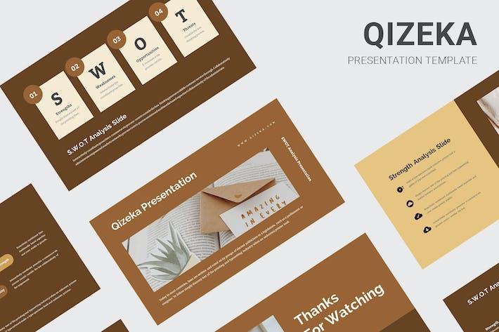 Thumbnail for Qizeka: Keynote анализа SWOT